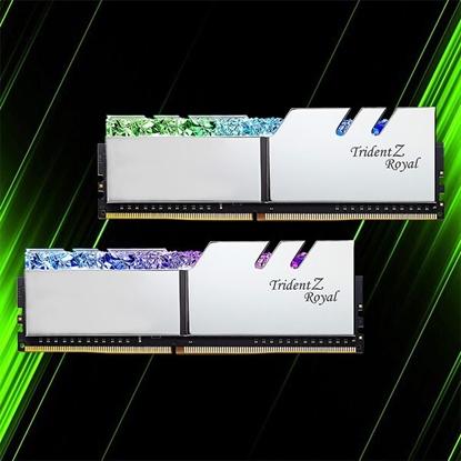 رم جی اسکیل Trident Z Royal 32GB 16GBx2 3200MHz CL16