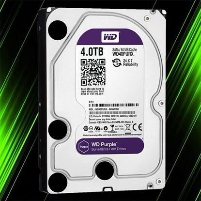 هارد اینترنال وسترن دیجیتال Purple 4TB 64MB Buffer