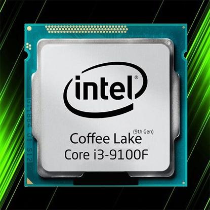 پردازنده اینتل بدون باکس CORE i3-9100F Coffee Lake