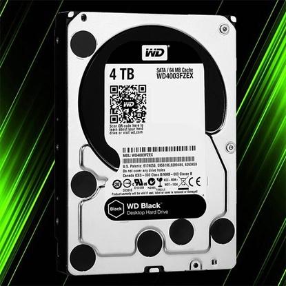 هارد اینترنال وسترن دیجیتال Black 4TB 64MB Buffer