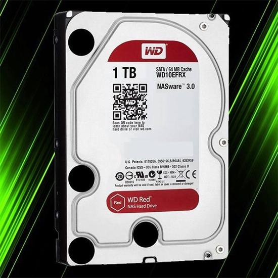 هارد اینترنال وسترن دیجیتال RED NAS 1TB 64MB Buffer