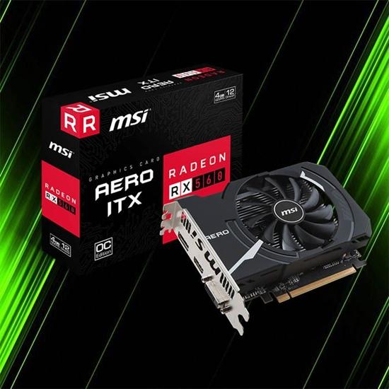 کارت گرافیک ام اس آی Radeon RX 560 AERO ITX 4G OC
