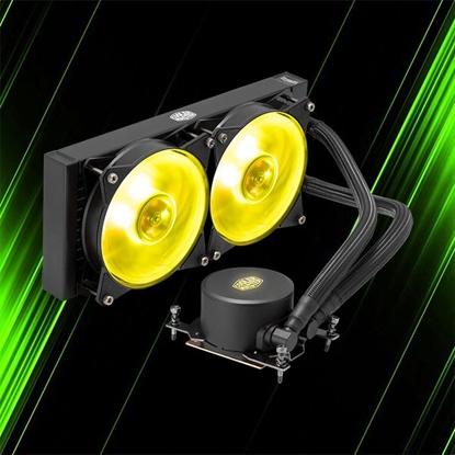 خنک کننده مایع پردازنده کولرمستر ML240 RGB TR4 Edition