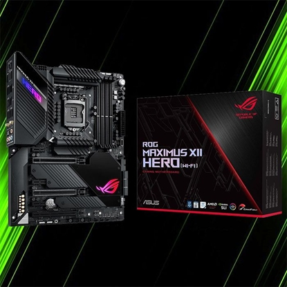 مادربورد ایسوس ROG MAXIMUS XII HERO WIFI Z490