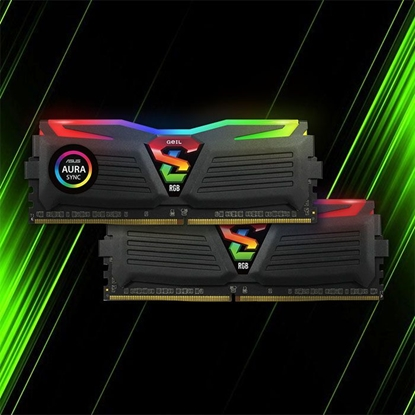 رم گیل Super Luce RGB SYNC DDR4 16GB 8GBx2 3200Mhz CL18
