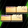 رم جی اسکیل Trident Z Royal Gold 64GB 32GBx2 3200MHz CL16