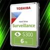 هارد اینترنال توشیبا S300 Surveillance 6TB