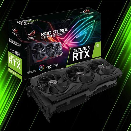 کارت گرافیک ایسوس ROG STRIX RTX2080TI O11G