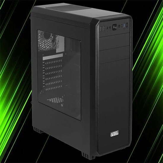 کیس کامپیوتر گرین Z+ Grand Black