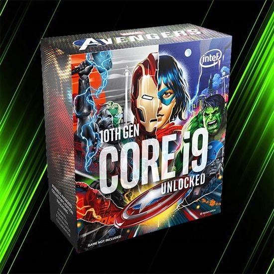 پردازنده اینتل CORE i9-10850K AVENGERS EDITION