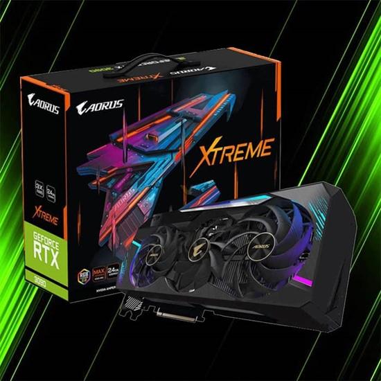کارت گرافیک گیگابایت AORUS GeForce RTX 3090 XTREME 24G