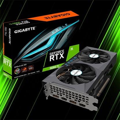 کارت گرافیک گیگابایت RTX 3060 Ti EAGLE OC 8G
