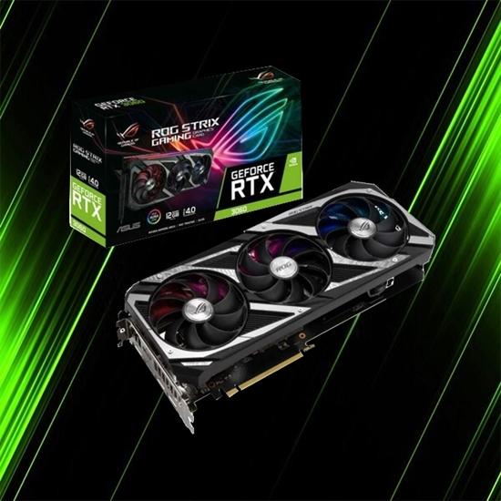 کارت گرافیک ایسوس ROG STRIX RTX 3060 12G GAMING
