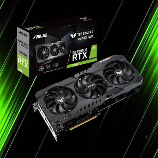 کارت گرافیک ایسوس TUF Gaming GeForce RTX 3060 Ti Edition 8GB GDDR6