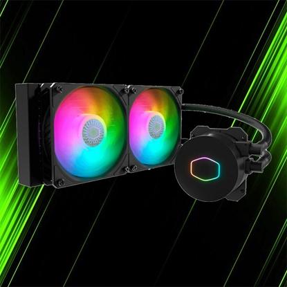 خنک کننده مایع پردازنده کولر مستر MASTERLIQUID ML240L RGB V2