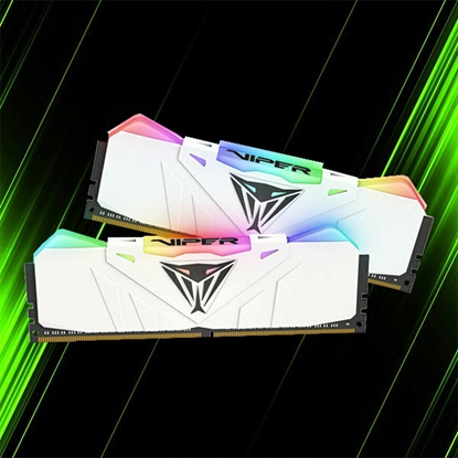 رم پاتریوت Viper RGB 16GB 8GBx2 3200MHz CL16 White