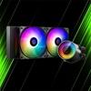 خنک کننده مایع پردازنده دیپ کول CASTLE 240RGB V2