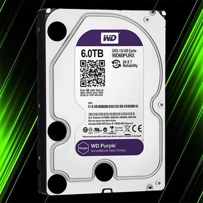 هارد اینترنال وسترن دیجیتال Purple 6TB 64MB Buffer