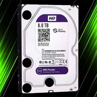 هارد اینترنال وسترن دیجیتال Purple 8TB 64MB Buffer