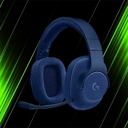هدست گیمینگ لاجیتک G433 7.1 Surround Blue
