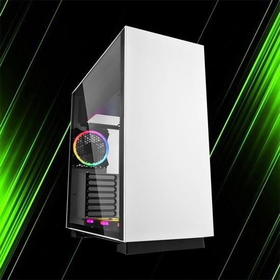 کیس کامپیوتر شارکن PURE STEEL RGB White