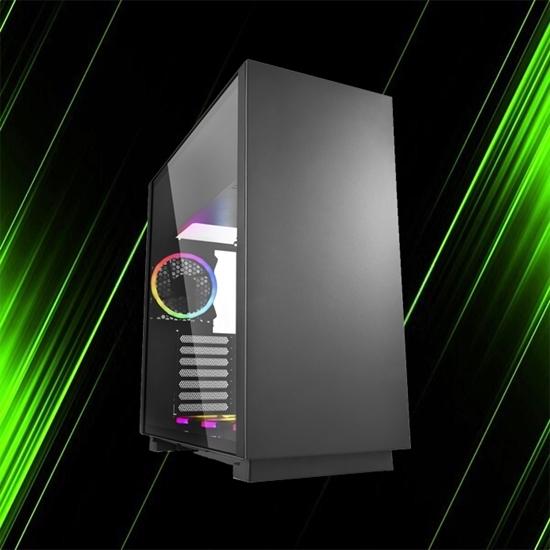 کیس کامپیوتر شارکن PURE STEEL RGB Black