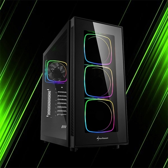 کیس کامپیوتر شارکن TG6 RGB