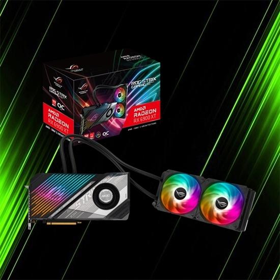 کارت گرافیک ایسوس ROG STRIX LC RX 6900 XT O16G GAMING
