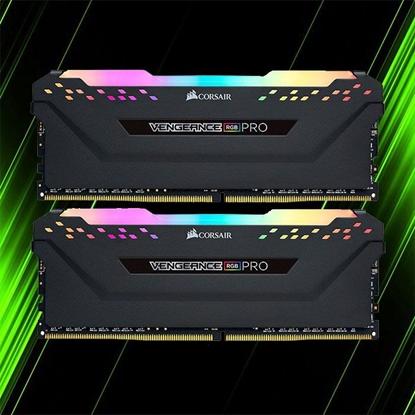 رم کورسیر VENGEANCE RGB PRO 64GB 32GBx2 3200MHz CL16