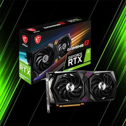 کارت گرافیک ام اس آی GeForce RTX 3060 GAMING X