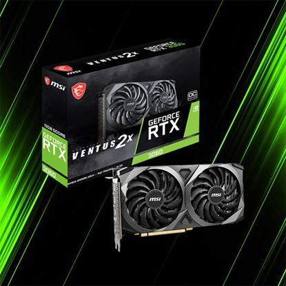 کارت گرافیک ام اس آی GeForce RTX 3060 VENTUS 2X OC