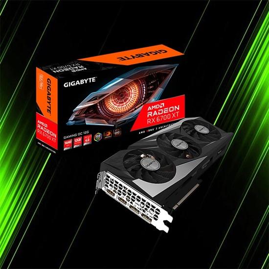 کارت گرافیک گیگابایت Radeon RX 6700 XT GAMING OC 12G