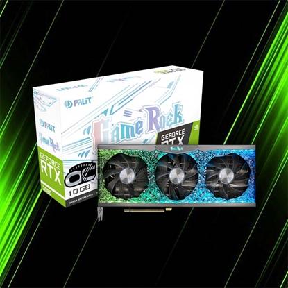 کارت گرافیک پلیت GeForce RTX 3080 GameRock OC