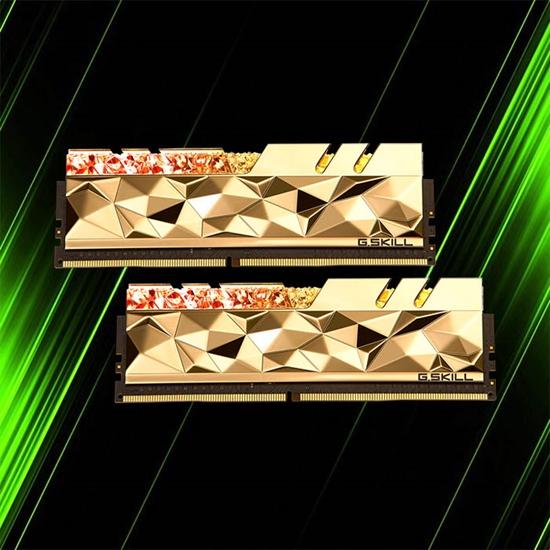 رم جی اسکیل Trident Z Royal Elite 64GB 32GBx2 4266MHz CL19 Gold