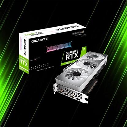 کارت گرافیک گیگابایت GeForce RTX 3070 Ti VISION OC 8G