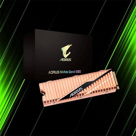 اس اس دی گیگابایت AORUS NVMe Gen4 SSD 500GB