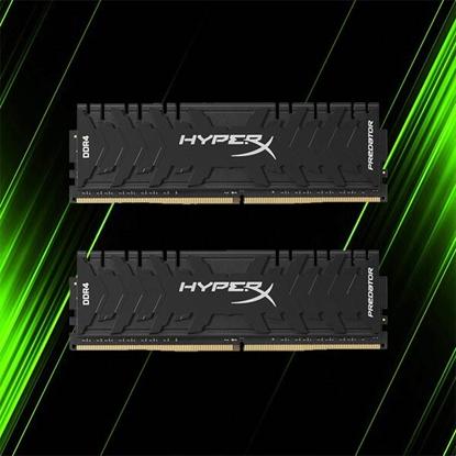 رم کینگستون HyperX Predator Black 32GB 16GBx2 3000MHz CL15