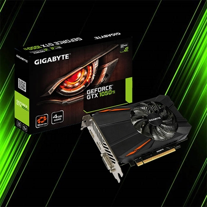 کارت گرافیک گیگابایت GeForce GTX 1050 Ti D5 4G