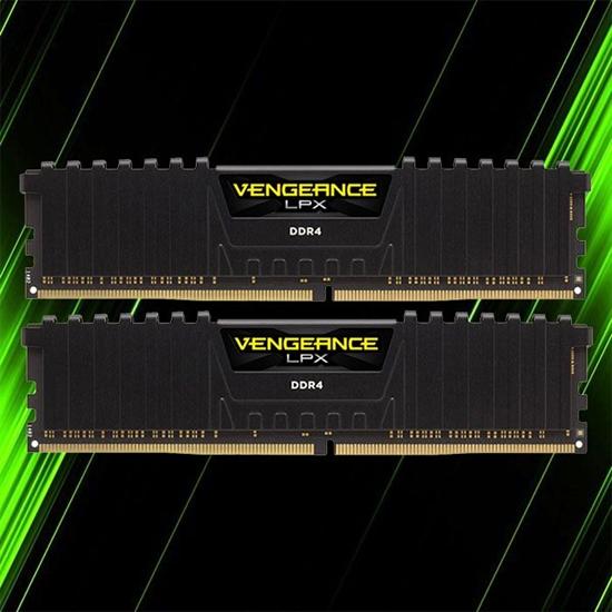 رم کورسیر Vengeance LPX 64GB 32GBx2 3200MHz CL16