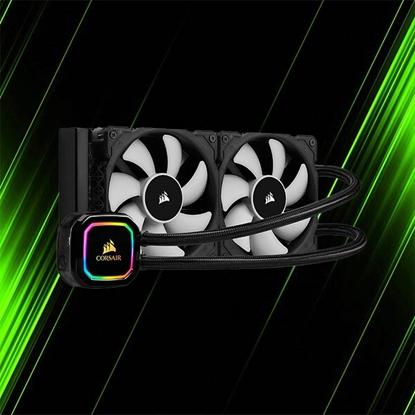 کولر مایع کورسیر iCUE H100i RGB PRO XT