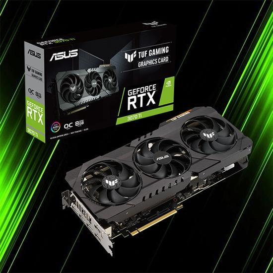 کارت گرافیک ایسوس  TUF Gaming GeForce RTX 3070 Ti OC Edition