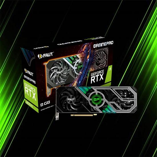 کارت گرافیک پلیت GeForce RTX 3070 Ti GamingPro