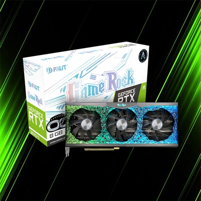 Palit GeForce RTX 3070 Ti OC GameRock 8GB GDDR6X Graphics Card