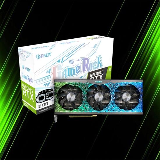 کارت گرافیک پلیت GeForce RTX 3070 OC GameRock