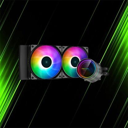 خنک کننده مایع پردازنده دیپ کول CASTLE 240EX ARGB
