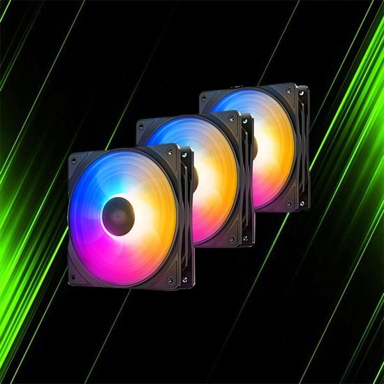فن کیس 3 عددی دیپ کول RF 120 FS
