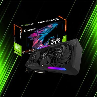 کارت گرافیک گیگابایت AORUS GeForce RTX 3070 Ti MASTER 8G